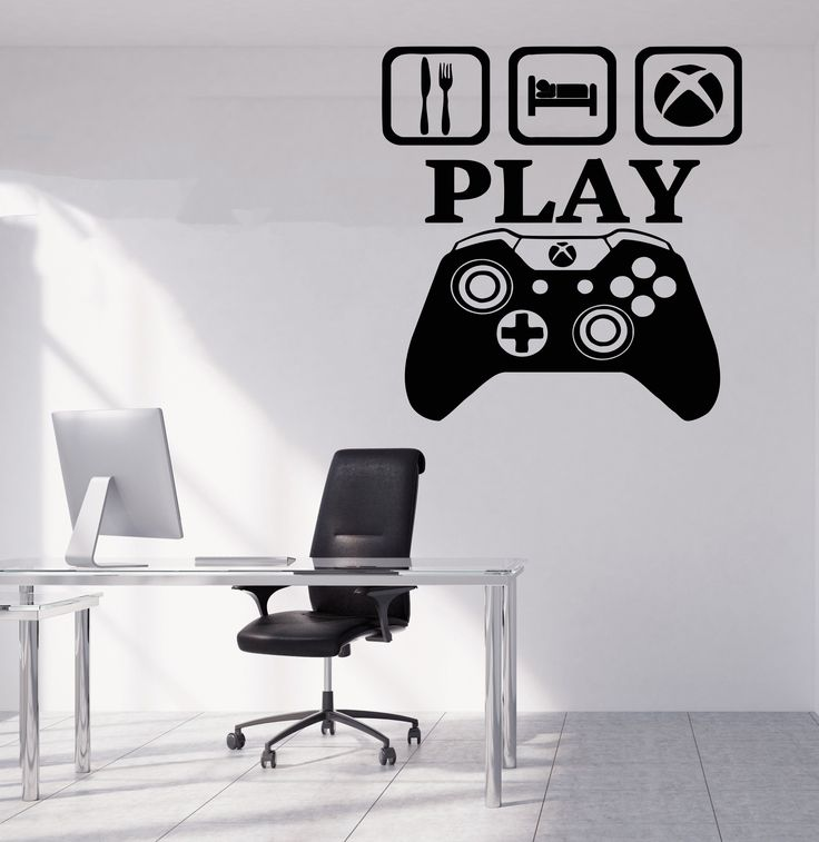 Gamer Wall Decal Gamer Decals Controller Decals Personalized Gamer Room 3054