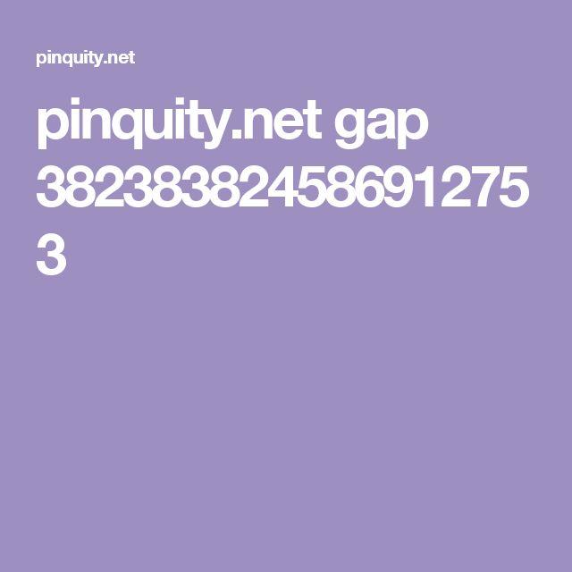 pinquity.net gap 382383824586912753