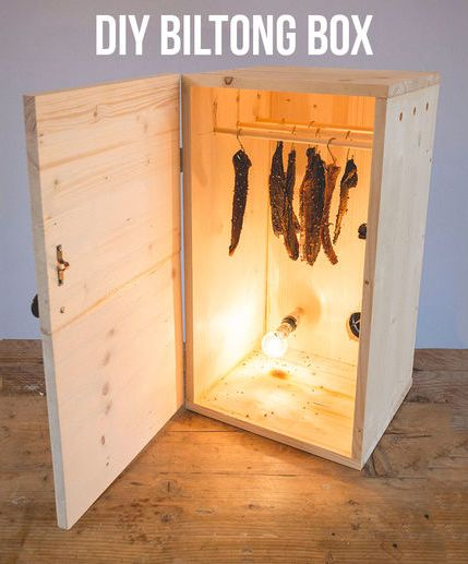 Biltong is an awesome South African dried meat snack. It can be made with Beef or many other types of game. It was traditionally made outside, but using a Biltong Box you can make your own in your own home.
