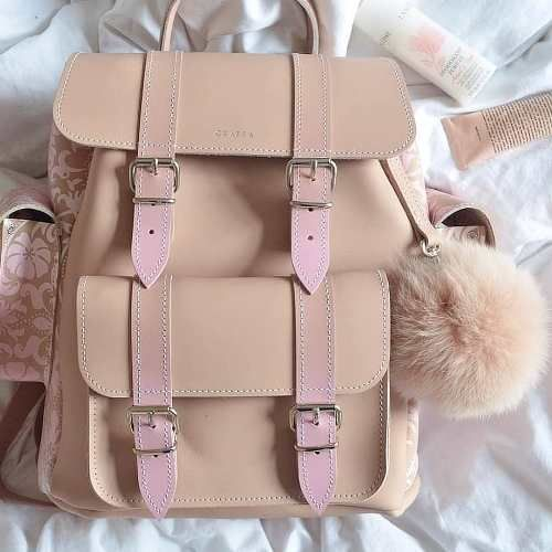 Photo of Grafea backpacks in muted tone colors | | Just Trendy Girls