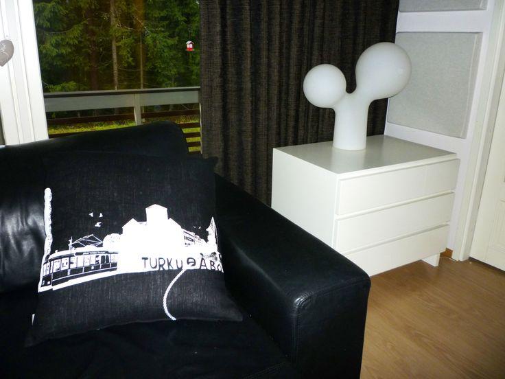 Turku-cushion by KUI Design. KUI Designin Turku-tyyny.