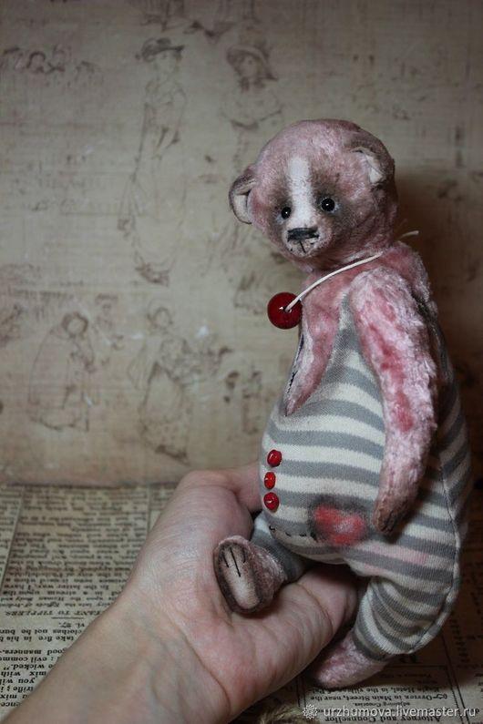 Мишки Тедди ручной работы. Ярмарка Мастеров - ручная работа. Купить Добрый друг. Handmade. Розовый, ручная работа