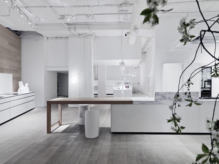 Geniusl Loci #flagship store #milan #showroom #kitchens #cabinets