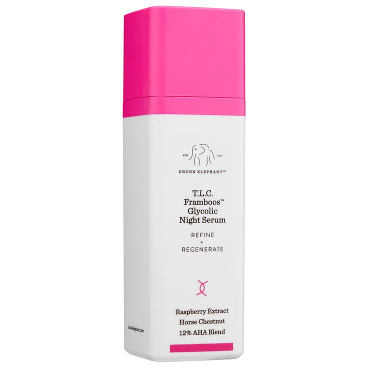What it is:A 12 percent glycolic serum for night that refines and resurfaces skin by gently dissolving dead skin cells and supporting natural collagen production.   What it is formulated to do:T.L.C. Framboos™ is a refreshing, hydrating gel t