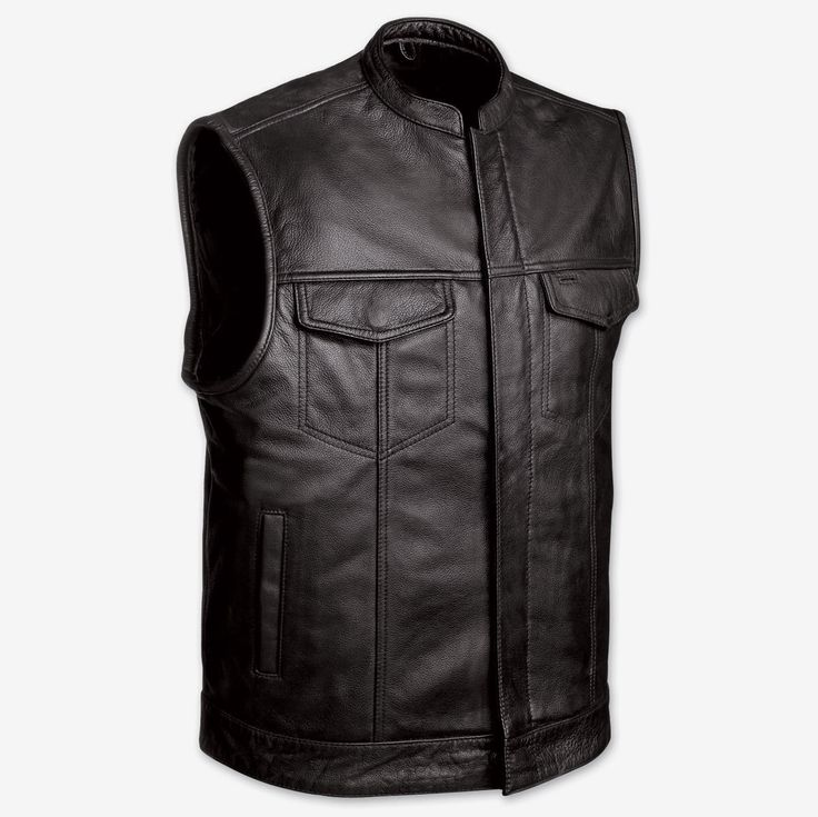 soa sons of anarchy leather vest, cowhide, Only $65.95#soavest #sonsofanarchyvest #motoryclevest #bikervest  https://theleatherdropship.com