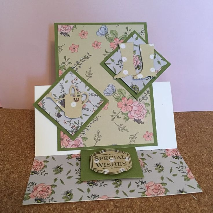 How to make an easel card - step by step project
