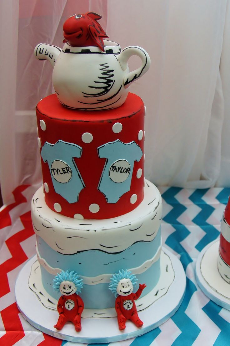 Dr Seuss Cake Images
