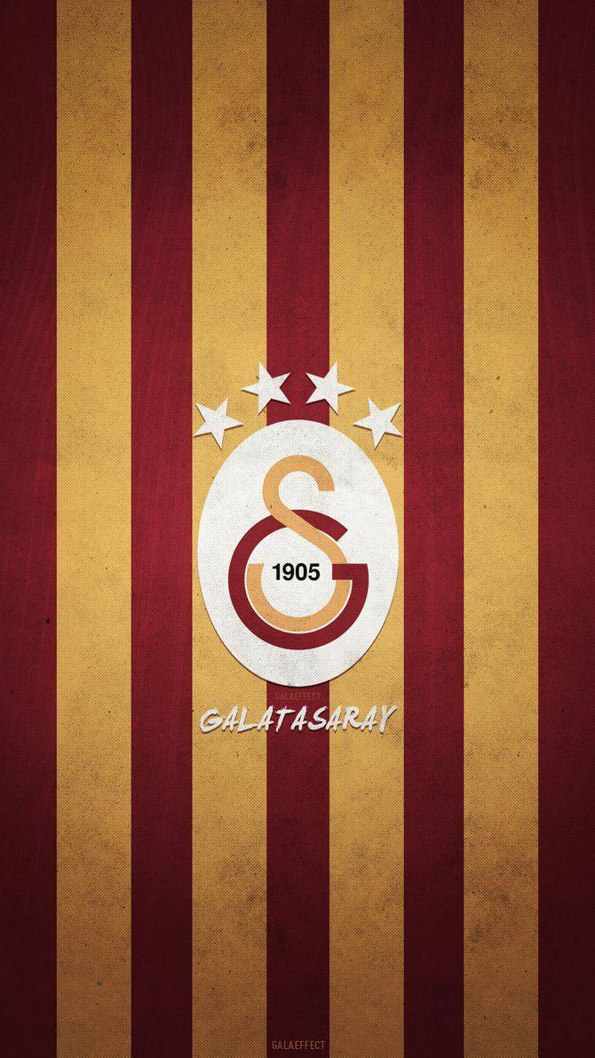 Sarı Kırmızı Galatasaray HD duvar kağıdı