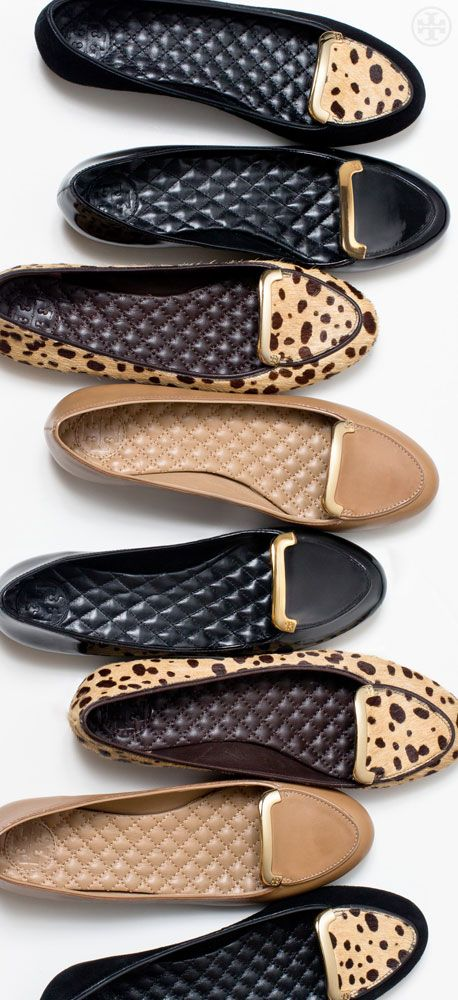 Tory Burch Jess Flat I think the name says it all!