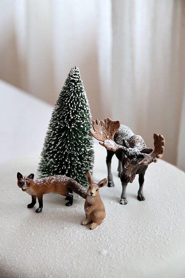 Täyttä elämää: Metsän eläimet kakun päällä