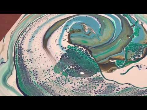 REVOLUTION OF FLUID PAINTING!! HUGE TROUGH DIRTY POUR SWIRL TILT. CHECK THIS OUT!! PLEASE SUB... - YouTube