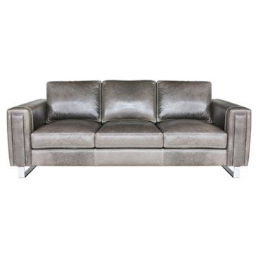 "Check out this item at One Kings Lane! Tribeca 89"" Sofa, Gray"