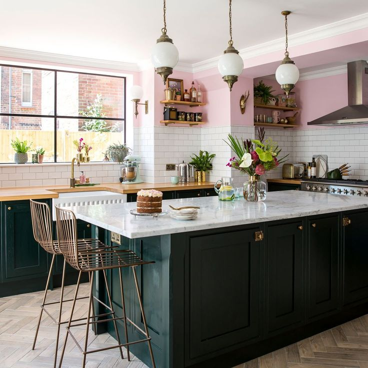Best Ways To Redecorate With Green: Blue And Green Kitchen Decor Lovely Green Kitchen Ideas