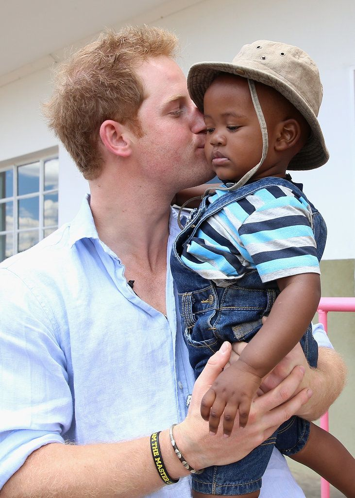 23 Times Prince Harry Was Out-of-Control Cute With Kids
