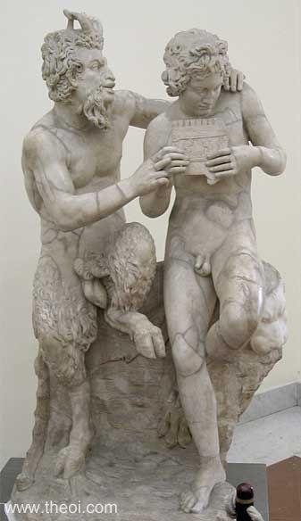 Pan and Daphnis - Greek Mythology