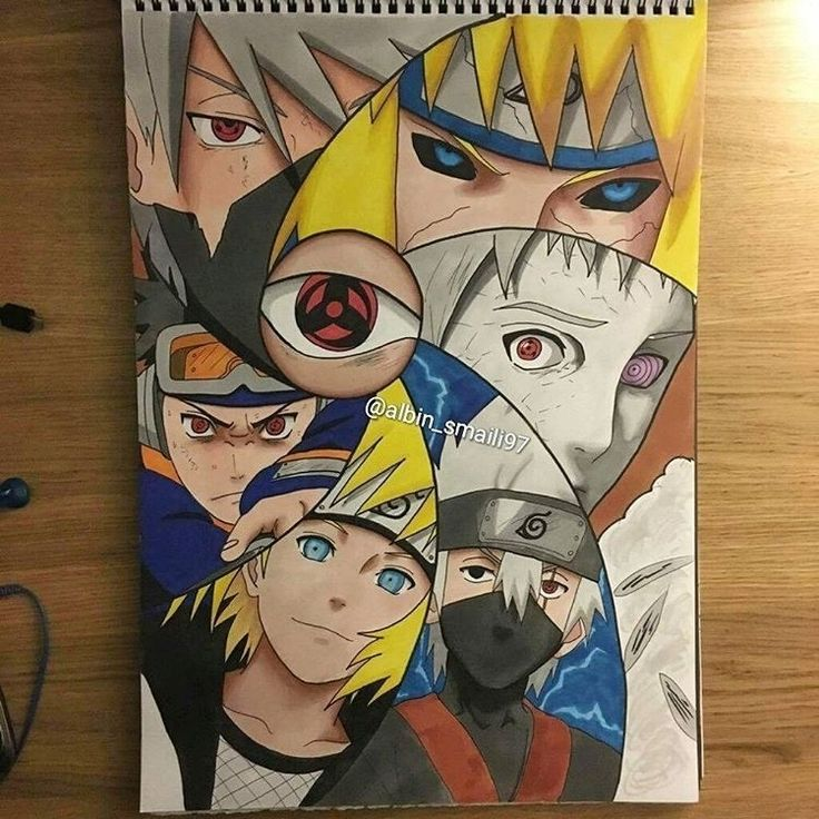 Meu Caderno do naruto