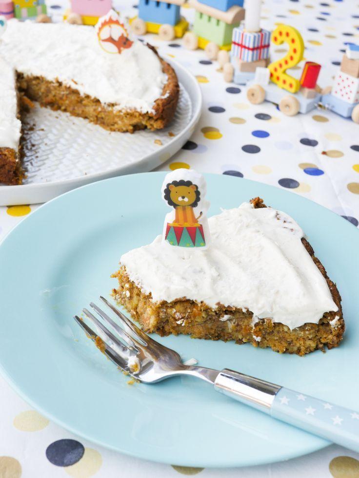 Gesunder Zuckerfreier Geburtstagskuchen Fur Kinder Rezept Geburtstagskuchen Kind Gesunde Geburtstagstorten Und Mohren Kuchen