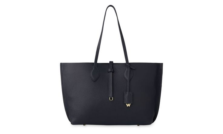 Regent Soft Tote, Navy | WHISTLES