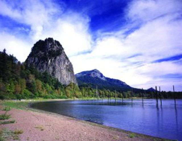 Best Washington State Parks to Visit in the Spring: Beacon Rock State Park - courtesy of Washington State Parks