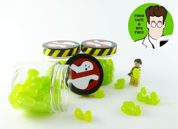 Ready to Ship Ghostbusters Slime Jar Ghostbusters Birthday by TRRP