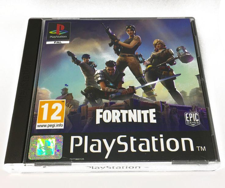 Fortnite Battle Royale Fan Custom PS1 PS4 PlayStation One