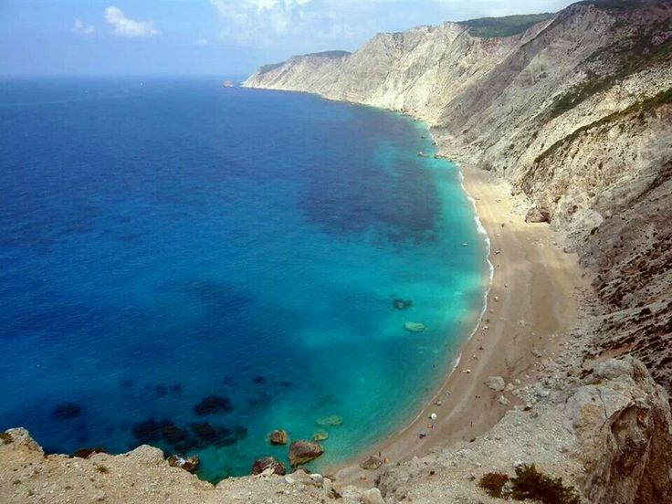 Platia Ammos beach Lixouri Kefalonia