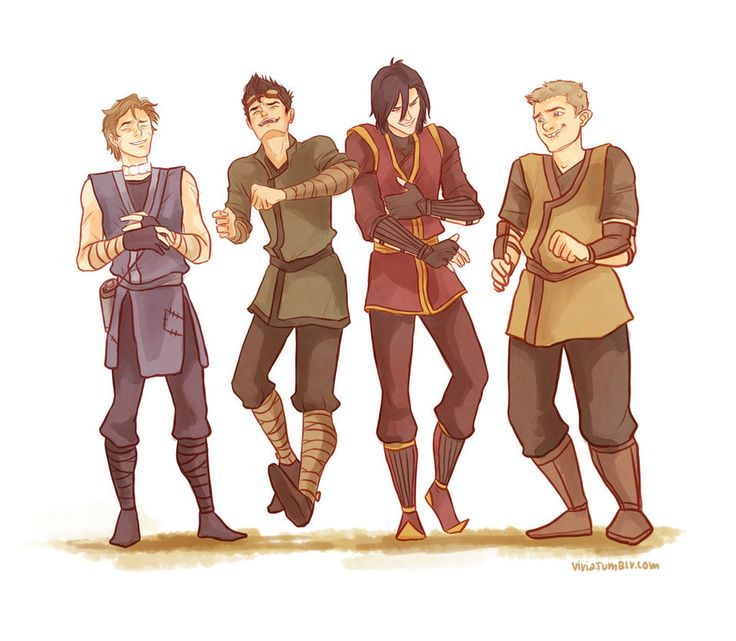 Sirius the fire bender, James the earth bender, Lupin the water bender, and Peter the non-bender --Avatarded Marauders by *viria13