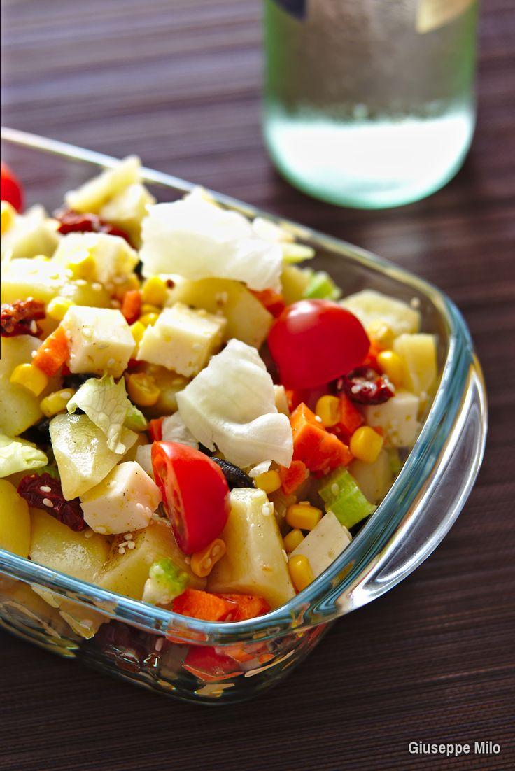 insalata di patate e formaggio ricetta
