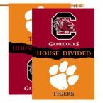 Ncaa 28 in. x 40 in. Clemson/South Carolina Rivalry House Divided Flag