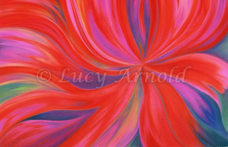 22x30 pastel Energy Flow is an expression of the powerful feminine force of creation. It was published by CEDCO Publishing in Women ArtistsDatebook 2001. My abstract paintings are completelynon-representational and intensely colored. They mayappear to…