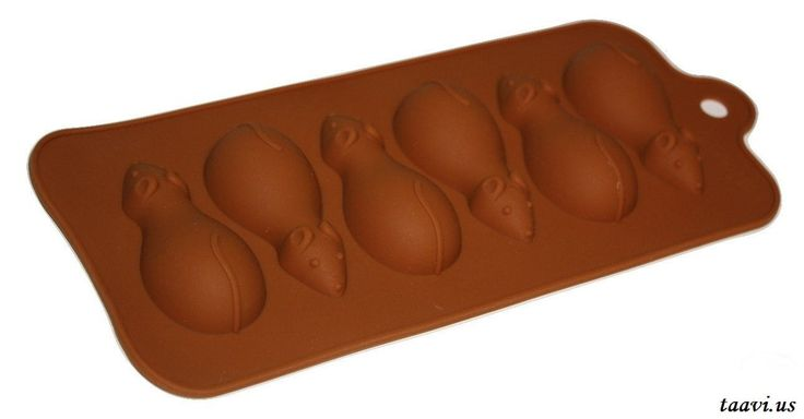 Mouse Chocolate Silicone Candy Making Mold (T-102)