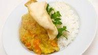 vegansk indisk curry oppskrift