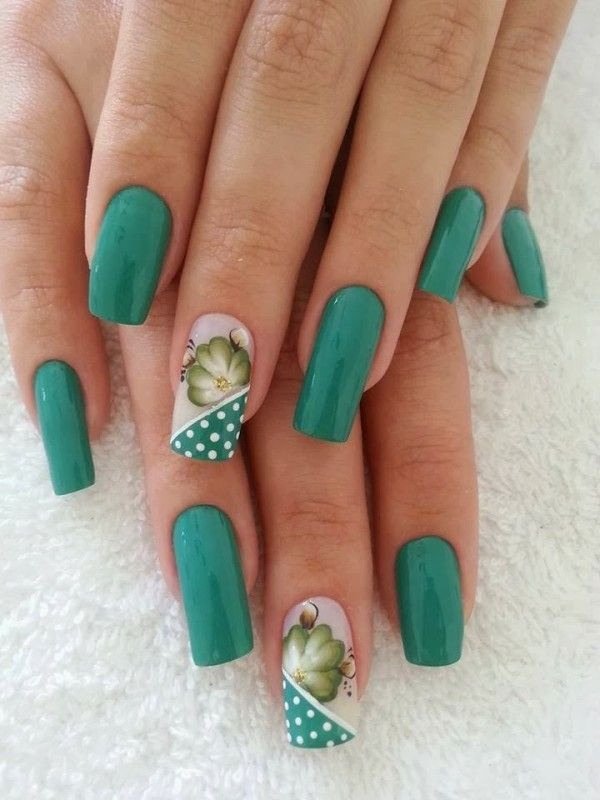 20  Best Nail Art Ideas... With a tulip instead ;)