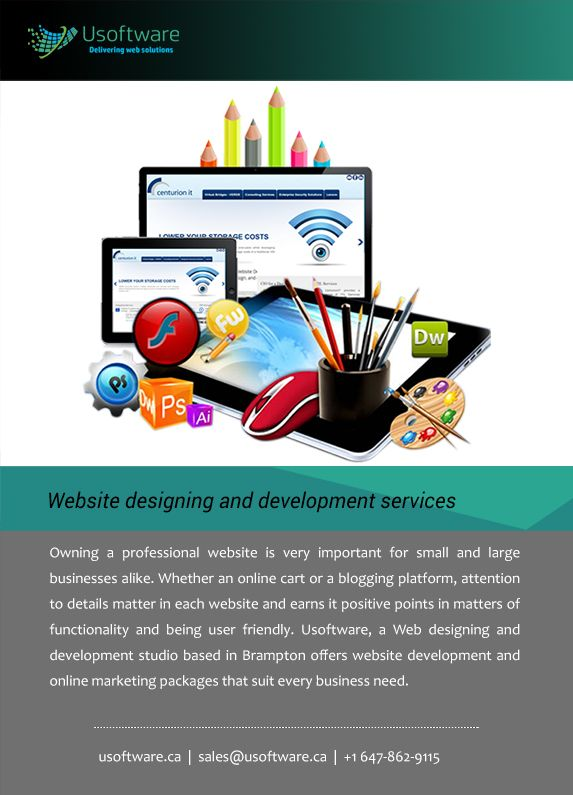 Custom website development mississauga