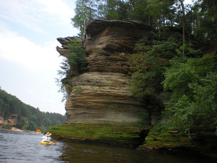 Wisconsin River - Lower Dells