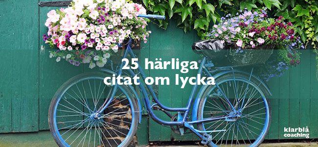25 härliga citat om lycka | www.klarblacoaching.se