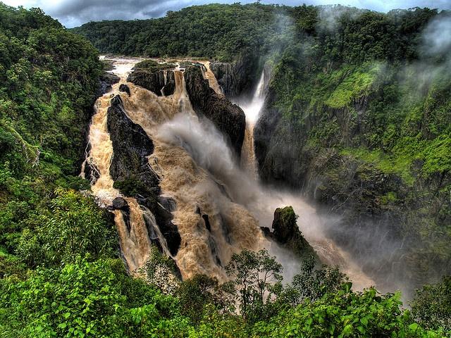 Barron Falls, Atherton Tableland, North Queensland, Australia - HDR
