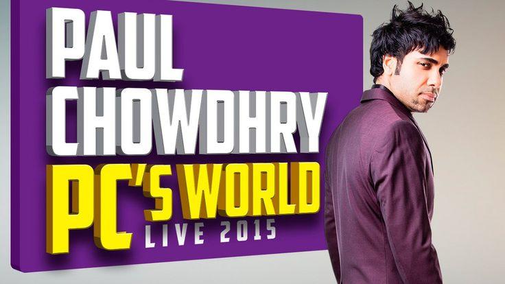 NEW Paul Chowdhry 2015 PC's World Comedy FULL LIVE SHOW - Gujaratis VS B...