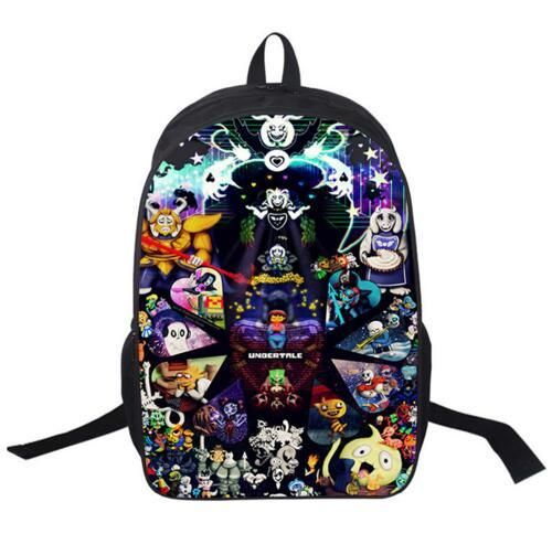 Undertale Printing Backpack Boys Girls School Bags Young Men Women Daily Backpack Children Bookbag Shoulder Backpacks Gift Bag