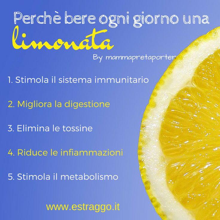 Sappiamo che il limone è un alimento davvero utile per la nostra salute: stimola il metabolismo, favorisce l'eliminazione delle tossine, riduce gli stati infiammatori e molto altro. Un bicchiere di acqua e limone al giorno, a meno che non soffriamo di bruciore di stomaco o di reflusso, è davvero una buona abitudine per tutti.