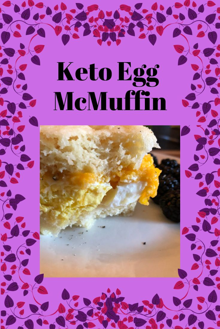 """Keto Egg """"McMuffin"""" Style Sandwich Recipe Mcmuffin"""