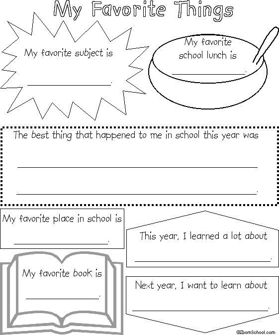 Written essay on favorite memory?