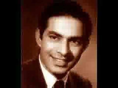 Talat Mahmood - Sham E Gham Ki Kasam - YouTube