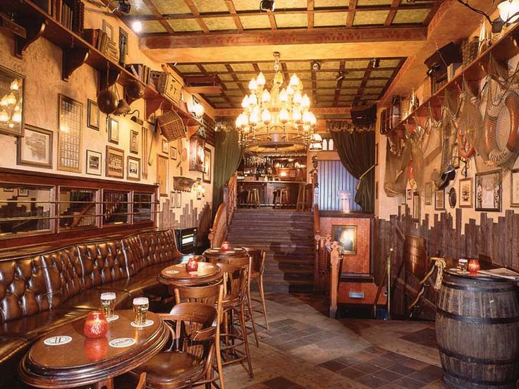 Charming English Pub Design
