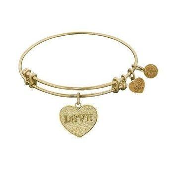 Love With Paw Print Heart Adjustable Charm Alex And Ani Like $24
