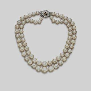 Collares de perlas, siempre a la moda