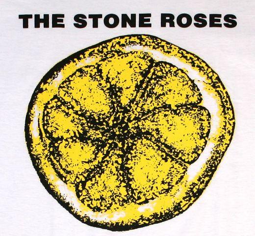 The Stone Roses / Lemon Tee | Logo | Stone roses, Rose ...