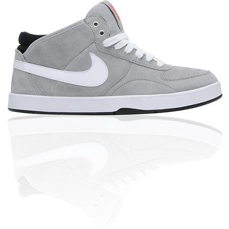 Nike 6.0 Mavrk Mid 3 Metallic Silver Shoe-zumiez.com