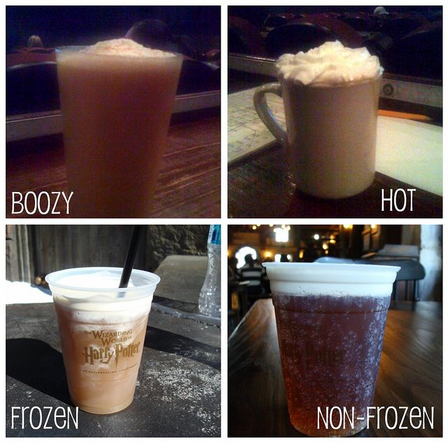 Butterbeers. So good!! Can't wait to make  these at home!!! The frozen kind was my favourite :)