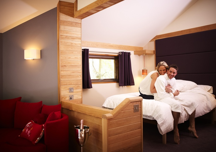 The new and exclusive to Blackwood Forest; Golden Oak Hideaway...only for couples! http://www.forestholidays.co.uk/locations/south-of-england/blackwood-forest-holidays/golden-oak-hideaway-cabin